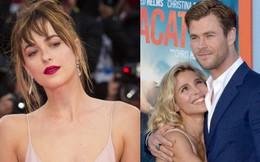 """Vợ của """"Thor"""" Chris Hemsworth dằn mặt mỹ nhân 50 Sắc Thái vì lo bị giật chồng?"""