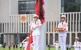 Khắp nơi treo cờ rủ Quốc tang Chủ tịch nước Trần Đại Quang
