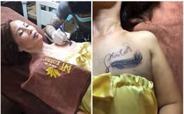 Cô dâu 61 tuổi xăm tên chồng lên ngực, phản ứng của chú rể khiến tất cả bất ngờ