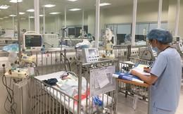 BV Nhi thông tin mới nhất về cháu bé con hai vợ chồng tử nạn trong vụ cháy ngoài cổng viện
