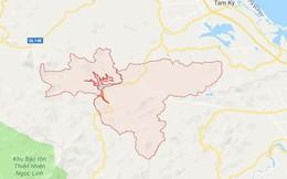 Thông tin mới nhất về trận động đất 3,1 độ tại huyện Bắc Trà My