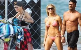Ly hôn sao phim Baywatch, cựu người mẫu lâm vào cảnh khốn cùng, sống lang thang và nhặt rác