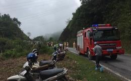 Xe 7 chỗ lao xuống vực sâu 100m ở Bắc Kạn, 5 người bị thương