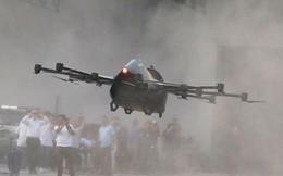 24h qua ảnh: Nhà sáng chế Philippines thử nghiệm ô tô bay