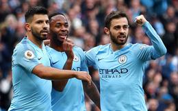 """Thắng dễ """"hung thần"""" của Man United, Man City chờ phút chính thức lên ngồi đầu"""