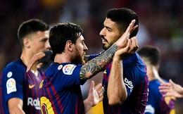 """Ronaldo """"khát cháy họng"""", Messi chia bàn thắng cho đồng đội trong chiến thắng hủy diệt"""
