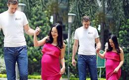 Hạnh phúc ngọt ngào bên chồng Tây cao 2m và con gái của diễn viên Lan Phương