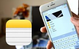 Dùng iPhone đã lâu, bạn có biết rằng mình có thể đặt mật khẩu cho ứng dụng Ghi chú hay không?