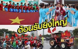 """Báo Thái Lan ca ngợi U23 Việt Nam là """"người hùng"""", tự nhận """"Voi chiến"""" tệ nhất Asiad"""