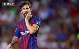 """Messi lần đầu tiên bị đánh bật khỏi top 3 ứng viên giải """"The Best"""" sau 12 năm"""