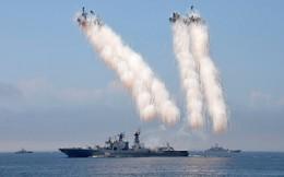 Hải quân Nga ra oai ngoài khơi biển Syria: Tên lửa bay tới tấp nhiều nhất trong lịch sử