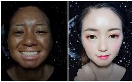 """Chứng kiến cô gái """"đổi trắng thay đen"""" gương mặt một cách ngoạn mục, cánh đàn ông kêu trời vì chẳng còn biết tin ai"""