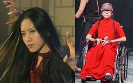 """Ác nữ Mai Siêu Phong phim """"Anh hùng xạ điêu"""" gầy gò, ngồi xe lăn khiến người hâm mộ xót xa"""