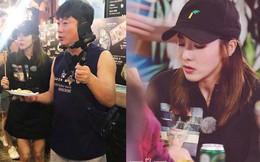 Mỹ nhân Hàn Dara thả ga ăn vặt, vi vu khắp chợ Sài Gòn để mua sắm