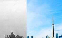 Kinh ngạc với sự thay đổi của các thành phố trên thế giới qua các năm