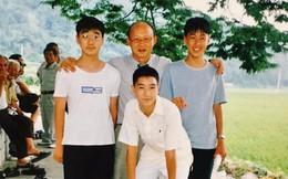 Lan truyền bức ảnh được cho là của HLV Park Hang-seo cùng Son Heung Min cách đây nhiều năm