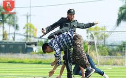 Mãn nhãn với những màn biểu diễn võ thuật của Cảnh sát cơ động