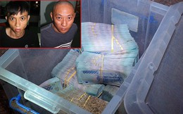 Tên cướp ngân hàng giấu cả thùng tiền tại một ngôi nhà hoang