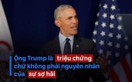 Ông Obama trở lại chính trường Mỹ với bài phát biểu đanh thép đầy ẩn ý