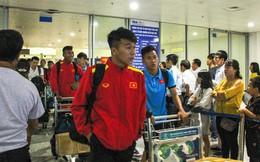Kết thúc chuyến tập huấn Nhật Bản, U19 Việt Nam đã về tới Hà Nội hướng tới giải Tứ hùng