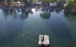 Cái hồ này có một bí mật cổ đại mà phải mất cả trăm năm con người mới phát hiện ra