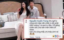 Bị so sánh nhan sắc với tình cũ tin đồn của Trọng Đại, Huyền Trang đáp trả cực xéo xắt