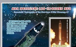 Tem thư mừng năm mới của Triều Tiên có hình gì?