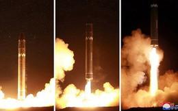 Triều Tiên tiến bộ vượt bậc về công nghệ tên lửa đạn đạo trong 2017