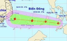 Áp thấp di chuyển cực nhanh, thành bão khi vô biển Đông