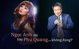 Vụ hét giá 10000 USD: Nhạc sĩ Phú Quang hay Ngọc Anh sai?