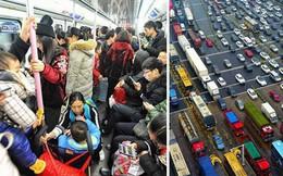 Trung Quốc: Những hình ảnh khiến nhiều người ngao ngán khi ra đường vào dịp năm mới
