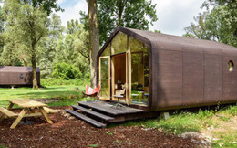 """Ngôi nhà nhỏ 50m² đẹp lãng mạn và có thể """"mang theo"""" đến bất kỳ đâu"""