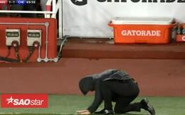 HLV Conte vái lạy trước màn trình diễn 'ăn hại' của Morata