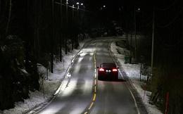 Đèn đường thông minh tự điều chỉnh ánh sáng tại Na Uy