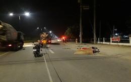 Xe bồn gây tai nạn chết người, tài xế bỏ trốn