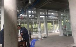 4 công nhân bị thương do sập giàn giáo công trình tại Yên Tử