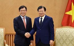 Phó thủ tướng Trịnh Đình Dũng: Mong Samsung mở rộng sản xuất tại Việt Nam