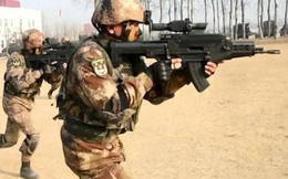 Trung Quốc khoe hình ảnh súng trường công nghệ cao QTS-11 dành cho đặc nhiệm
