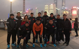 U23 Việt Nam thăm bến Thượng Hải, Công Vinh nhập tịch người cũ của bầu Hiển