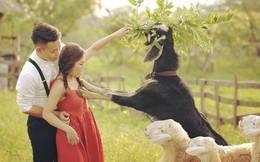 """Tai nạn chụp ảnh cưới: Chú rể sững người nhìn dê xồm xông vào """"sàm sỡ"""" cô dâu"""