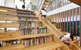 14 ý tưởng độc đáo biến cầu thang trở thành khu vui chơi trong nhà