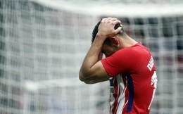 """Ghi bàn giúp đội nhà bám đuổi Barca, Diego Costa lĩnh thẻ đỏ """"chả đâu vào với đâu"""""""