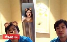 Sau ảnh 'nóng' với Hòa Minzy, Công Phượng bị 'hot girl' tung hình từ cuộc gọi Facetime
