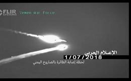Houthi công bố khoảnh khắc tên lửa biến cả F-15 và Tornado thành bó đuốc: Không lối thoát