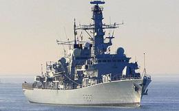 Anh điều tàu khu trục bám sát 4 tàu hải quân Nga