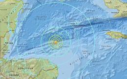 Động đất 7,6 độ Richter ở biển Caribean, cảnh báo sóng thần diện rộng