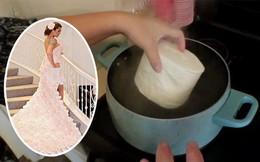 Người phụ nữ luộc giấy vệ sinh sau quãng thời gian stress, kết quả đã khiến mọi người giật mình