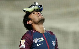 Đưa PSG vào bán kết, Neymar ăn mừng kiểu dị