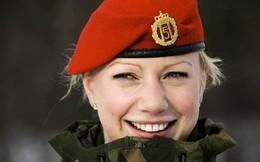Vẻ đẹp hút hồn của những nữ binh sĩ trên khắp thế giới