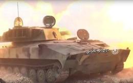 Pháo Syria trút bão lửa mở đường bộ binh tấn công 2 thị trấn phiến quân tại Hama